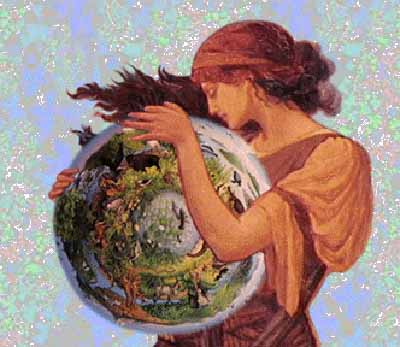 Goddess of Mother Earth