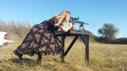 Cowgirl shooting