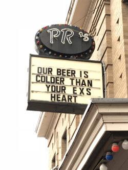 Fort Worth beer advert