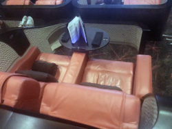 Cinema chairs at iPic