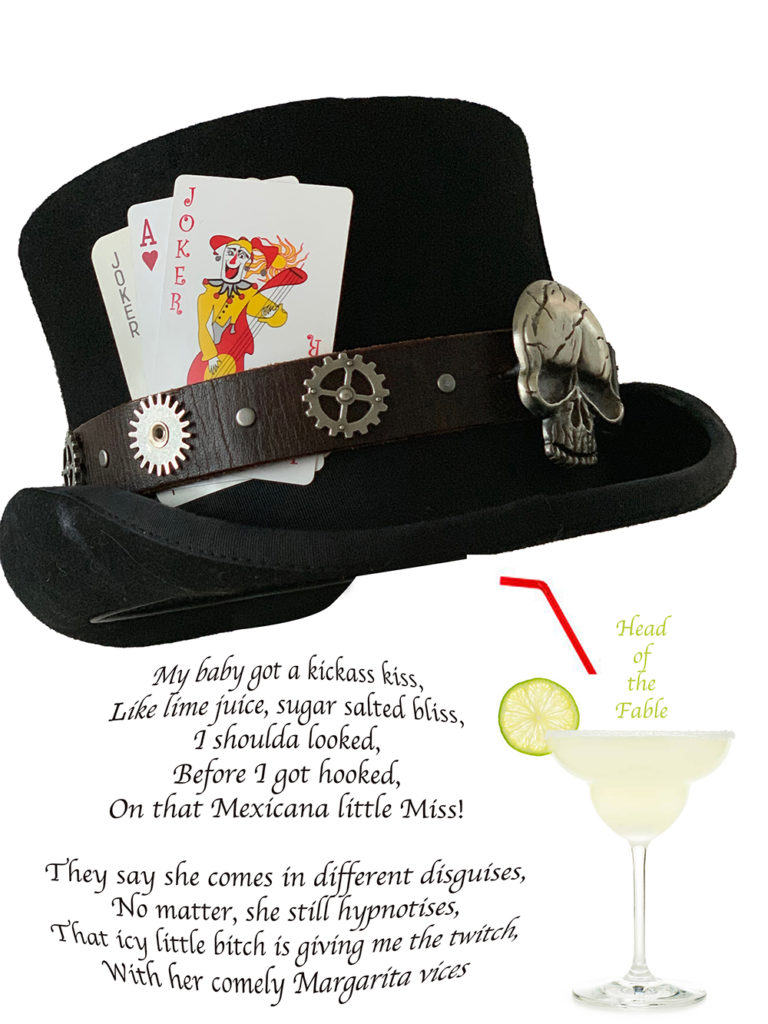 Mad hatter and cocktail