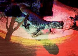 Lizard post apocalyptic